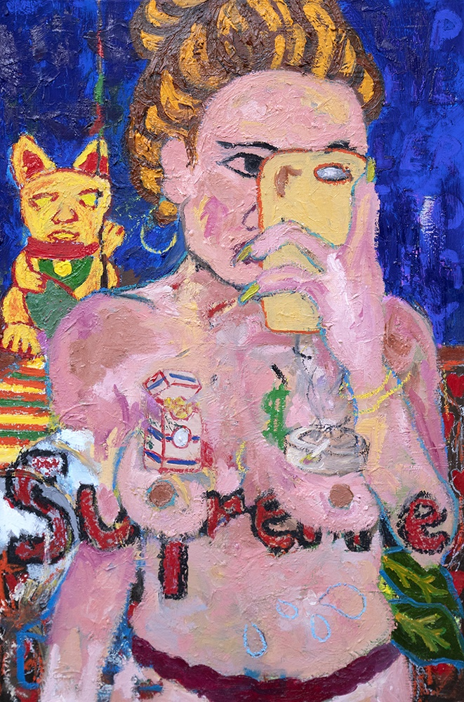 Ryan Falzon_Supreme, 70 x 50cms, Oil on Canvas ok lq